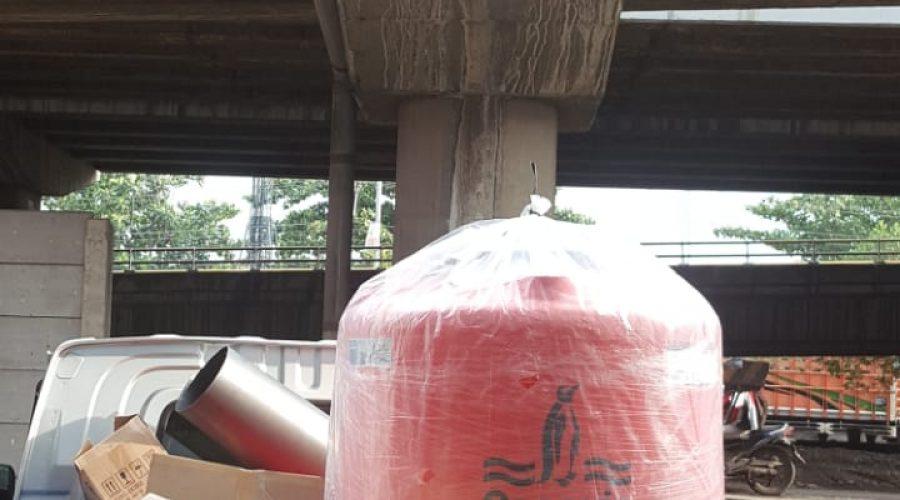 Pengiriman Barang ke Kapal Agent di Pelabuhan Tanjung Mas Semarang